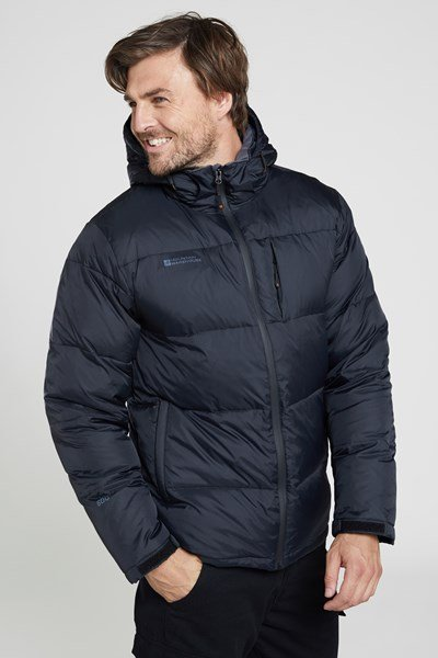 Frost Extreme Mens Down Padded Jacket - Charcoal