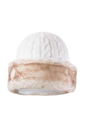 Womens Furry Hat
