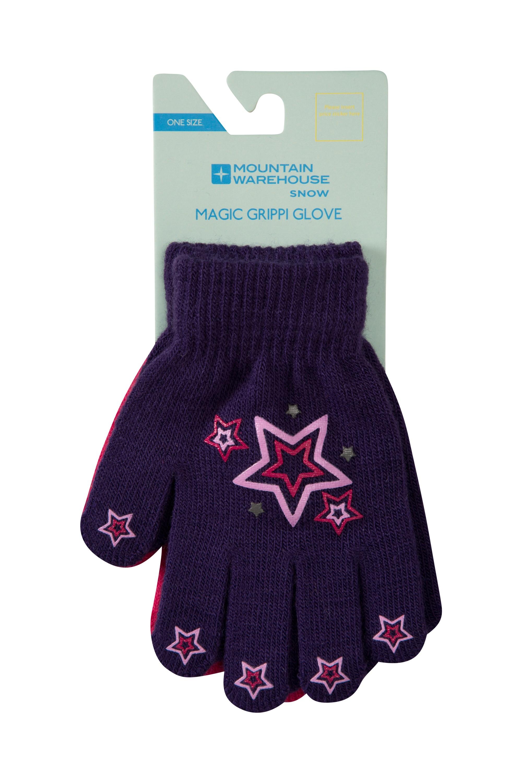 Magic Grippi Kids Gloves - 2 Pack - Pink