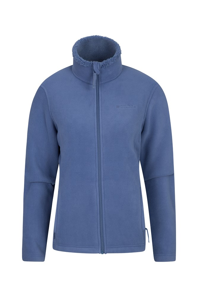 Comet Womens Fleece - Blue