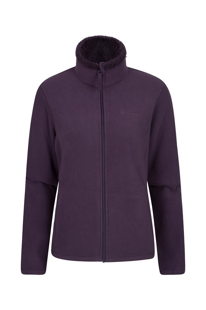 Comet Womens Fleece - Purple