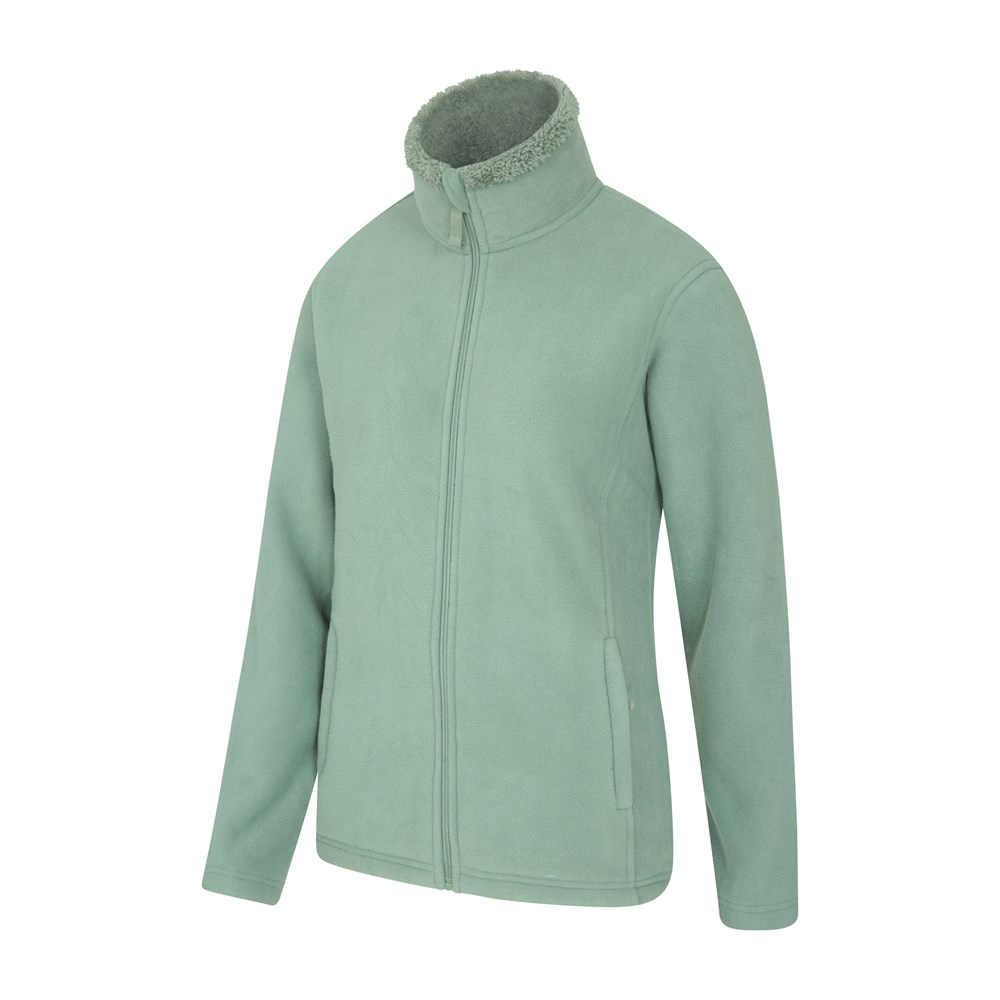 Mountain Warehouse Femme Full Zip Micropolaire Design /& Supersoft Moelleux Polaire