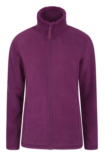 Comet Womens Fleece - Purple