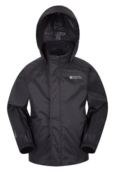 Pakka Kids Waterproof Jacket - Black