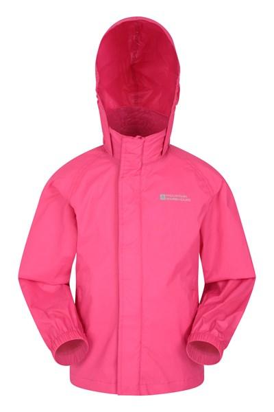 Pakka Kids Waterproof Jacket - Pink