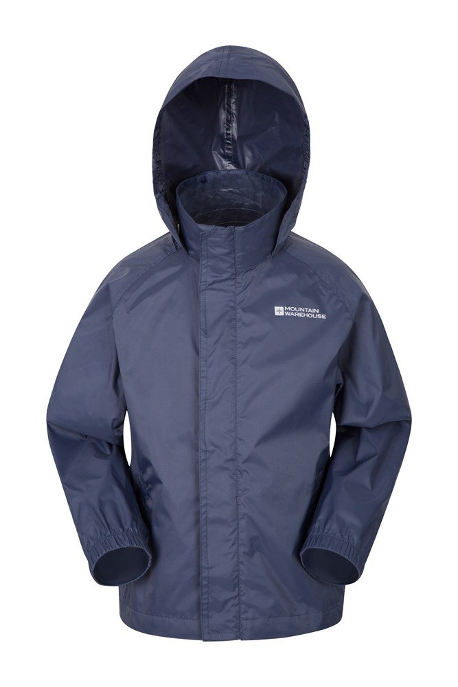 Pakka Kids Waterproof Jacket - Dark Blue