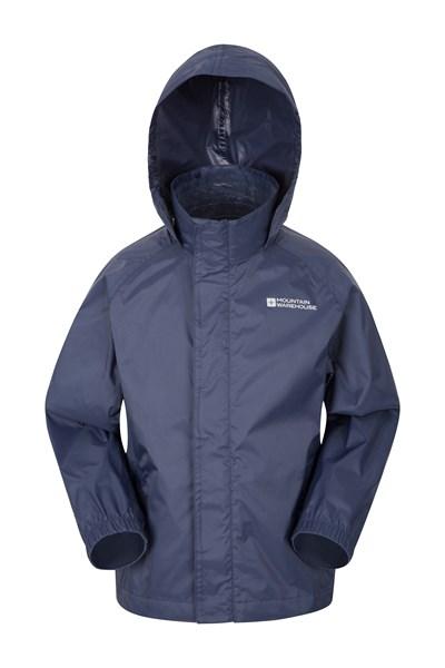Pakka Kids Waterproof Jacket - Dark Blue