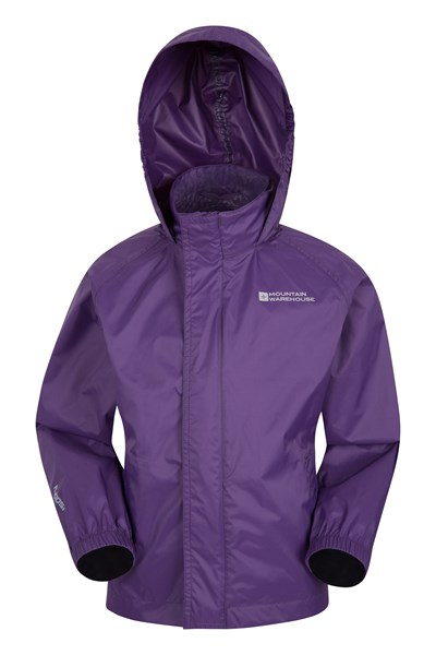 Pakka Kids Waterproof Jacket - Purple