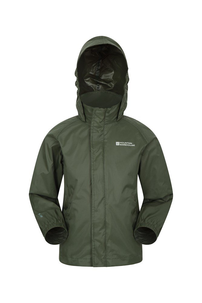 Pakka Kids Waterproof Jacket - Green