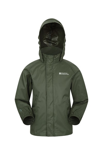 Pakka Kids Waterproof Jacket - Green