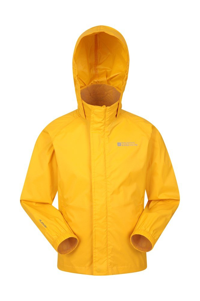 Pakka Kids Waterproof Jacket - Yellow
