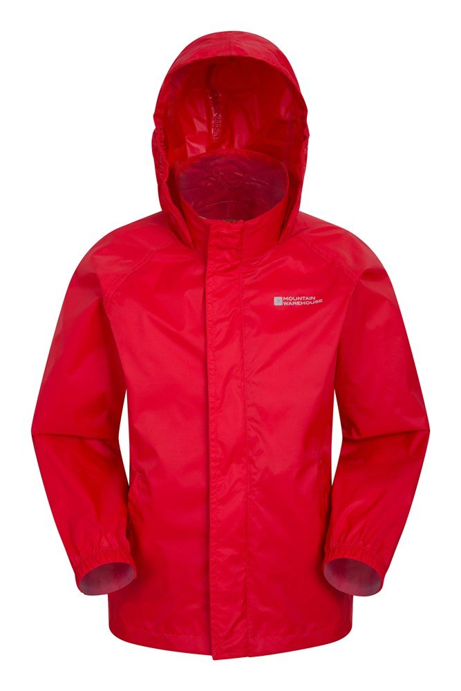 Pakka Kids Waterproof Jacket - Red