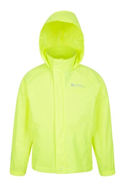 Pakka Kids Waterproof Jacket - Yellow
