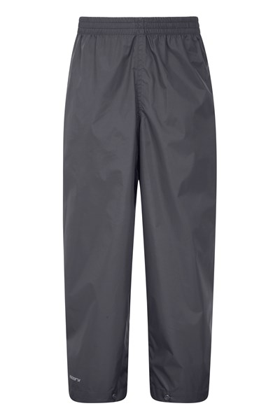 Pakka Kids Waterproof Over Trousers - Black
