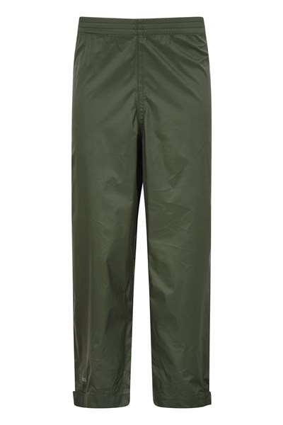 Pakka Kids Waterproof Over Trousers - Green
