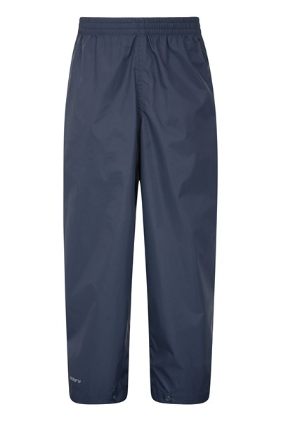 Pakka Kids Waterproof Over Trousers - Navy