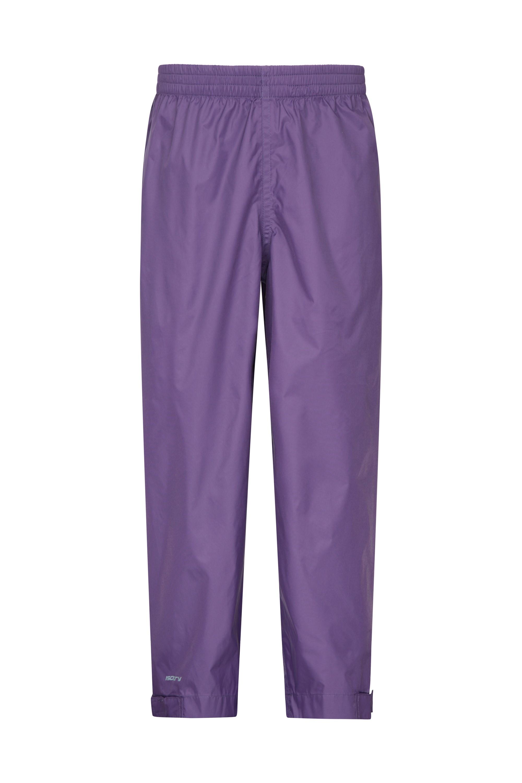 Pakka Kids Waterproof Over Trousers - Purple