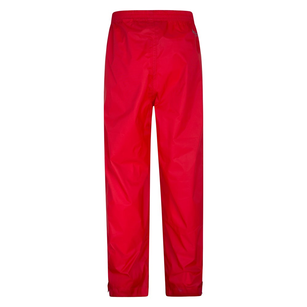 Mountain Warehouse Kids Overtrousers Waterproof Isodry Fabric with Taped Seams