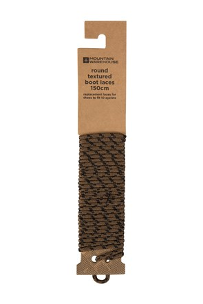 Round Textured Boot Laces - 150cm