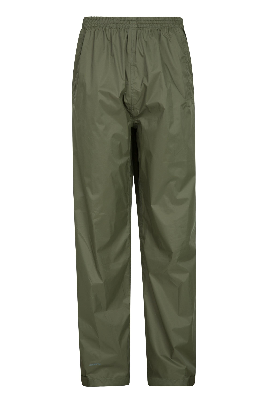 Pakka Mens Waterproof Overtrousers - Green