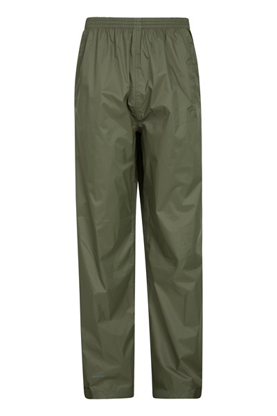 Pakka Mens Waterproof Overtrousers - Green