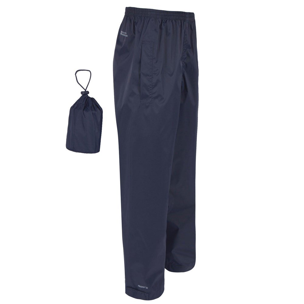 thumbnail 14 - Mountain-Warehouse-Mens-Waterproof-Over-Trousers-Walking-Rain-Pants-Hiking