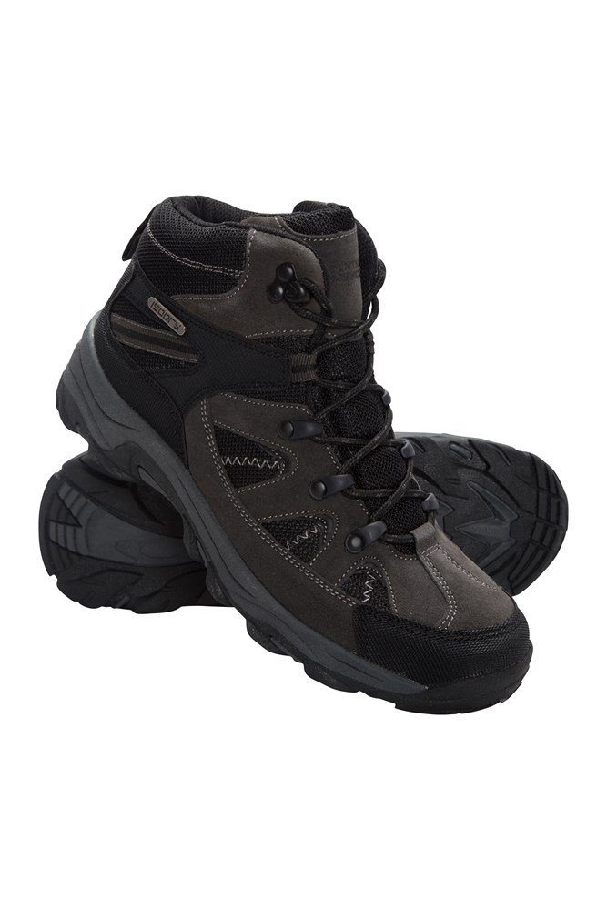 Prospect Mens Waterproof Softshell Boots - Black