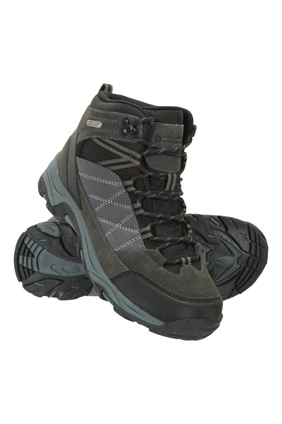 Prospect Mens Waterproof Softshell Boots - Charcoal