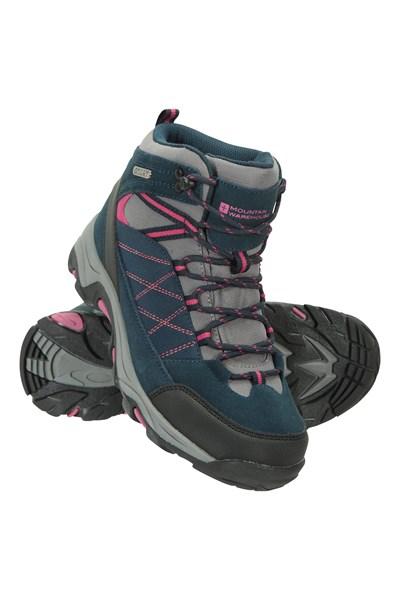 Prospect Mens Waterproof Softshell Boots - Navy