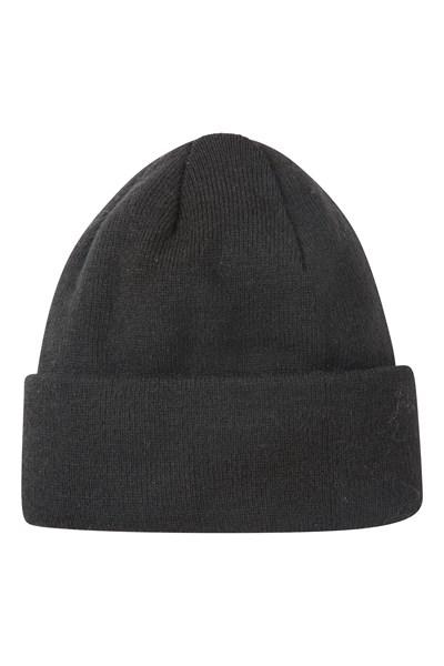 Thinsulate Womens Knitted Beanie - Black