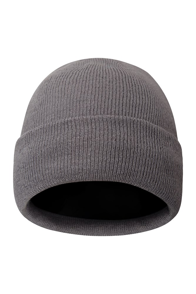 Thinsulate Womens Knitted Beanie - Grey