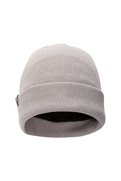 Thinsulate Womens Knitted Beanie - Grey