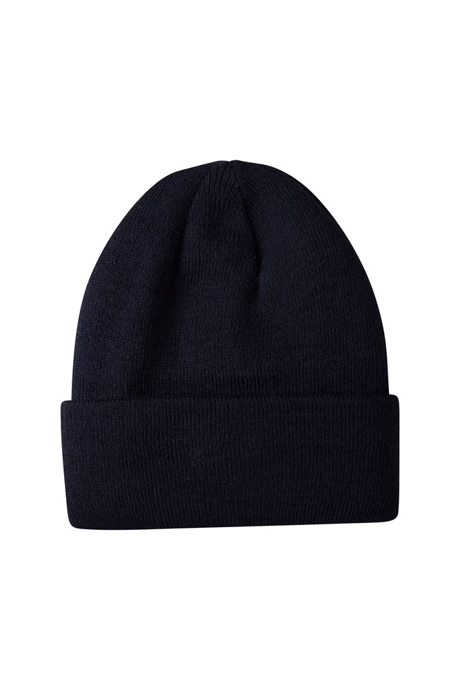 Thinsulate Womens Knitted Beanie - Navy