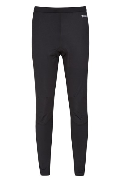 Winter Ride Mens Tights - Black