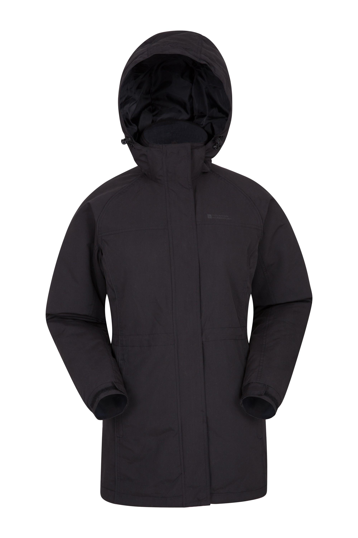 Westport Womens Winter Long Jacket - Black