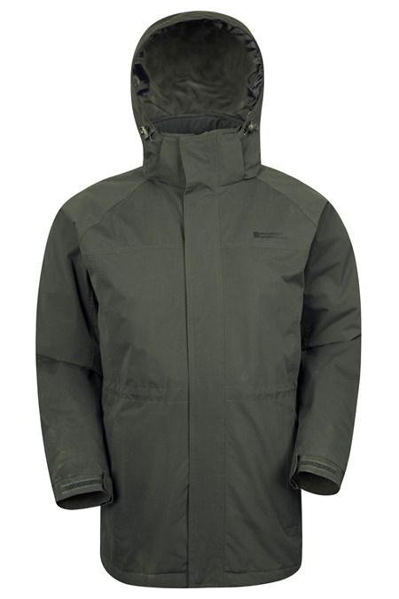 Westport Mens Winter Long Jacket Mountain Warehouse Gb