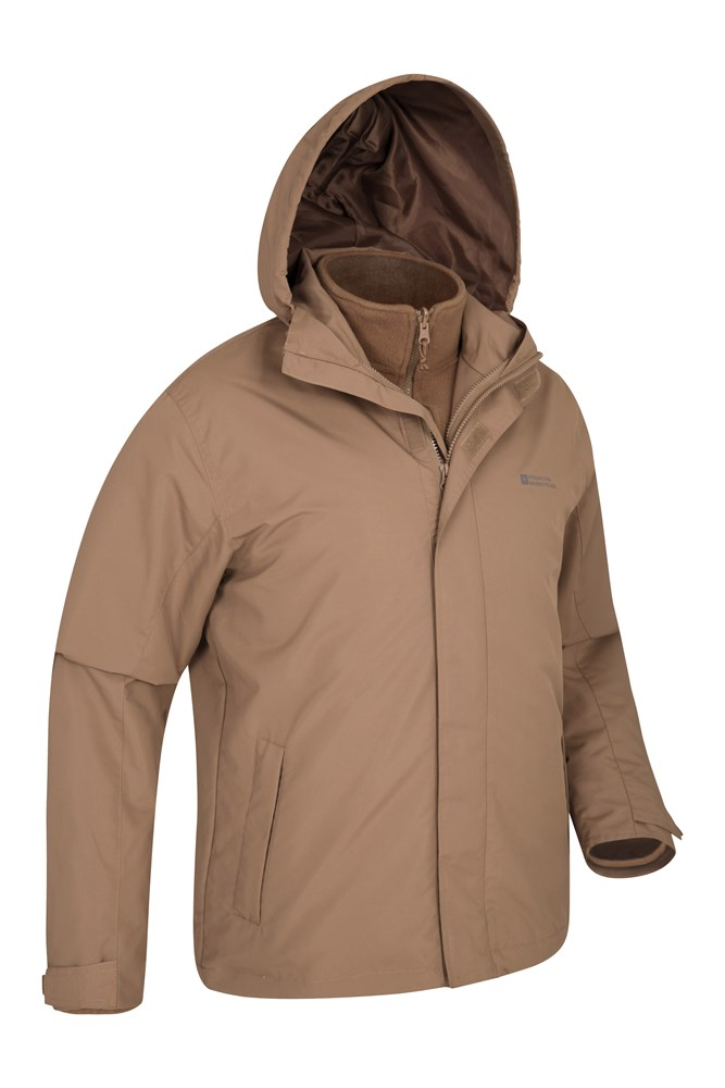 finest selection 93675 1684c Fell Mens 3 in 1 Water Resistant Jacket | Mountain Warehouse CA