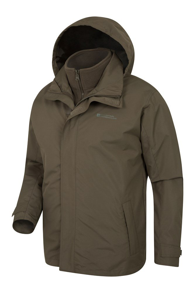 Fell Mens 3 in 1 Water Resistant Jacket   Mountain Warehouse GB 19f5e159ff5