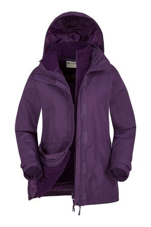 Chaqueta Impermeable 3 en 1 Fell Mujeres