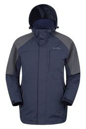 Ridge Mens Long Waterproof Jacket