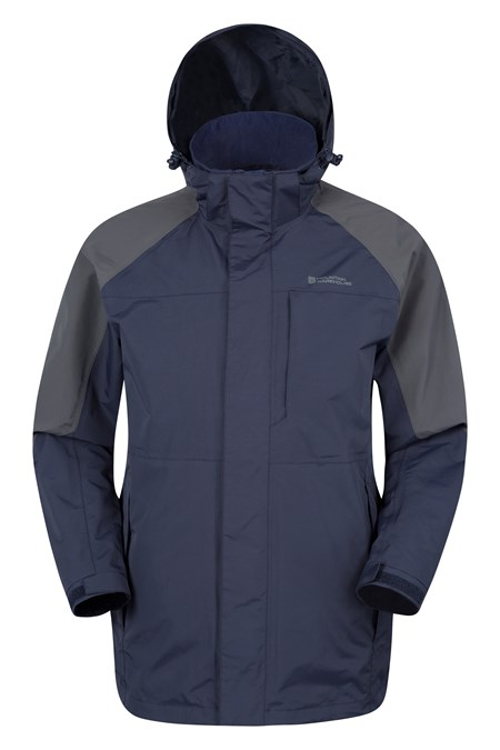 Ridge Mens Long Waterproof Jacket | Mountain Warehouse GB