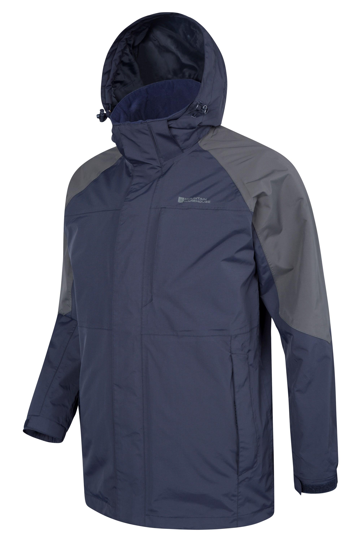 Ridge Mens Long Waterproof Jacket | Mountain Warehouse US