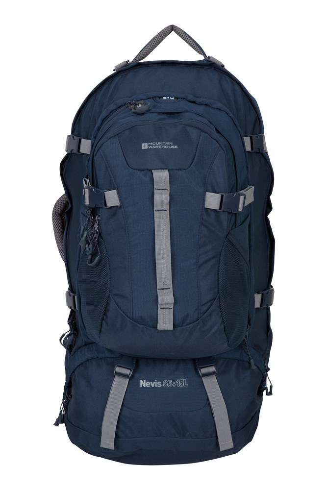 Nevis Extreme 65 + 15 Litre Backpack - Navy