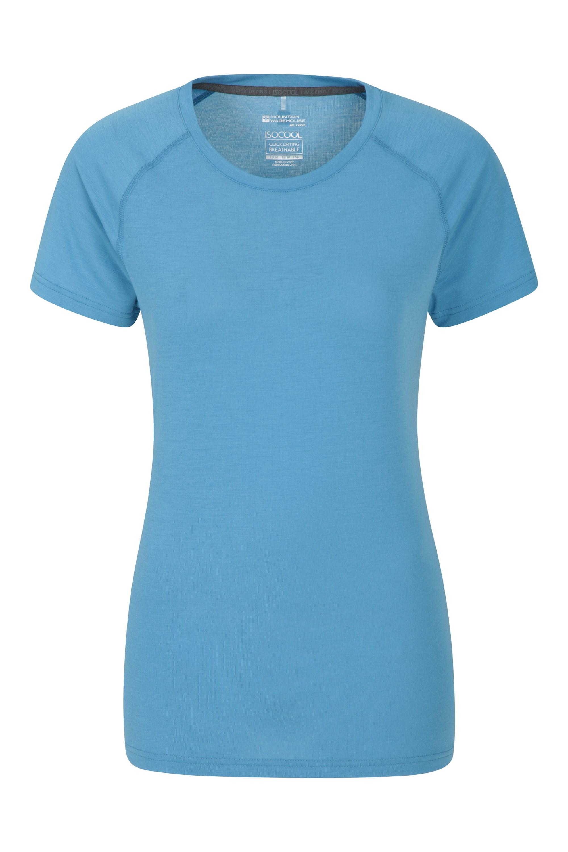 Damski T-shirt Endurance  - Blue