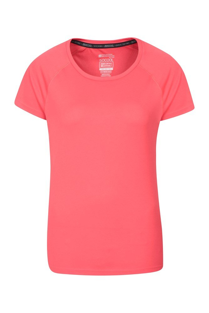 Endurance Womens T-Shirt - Pink