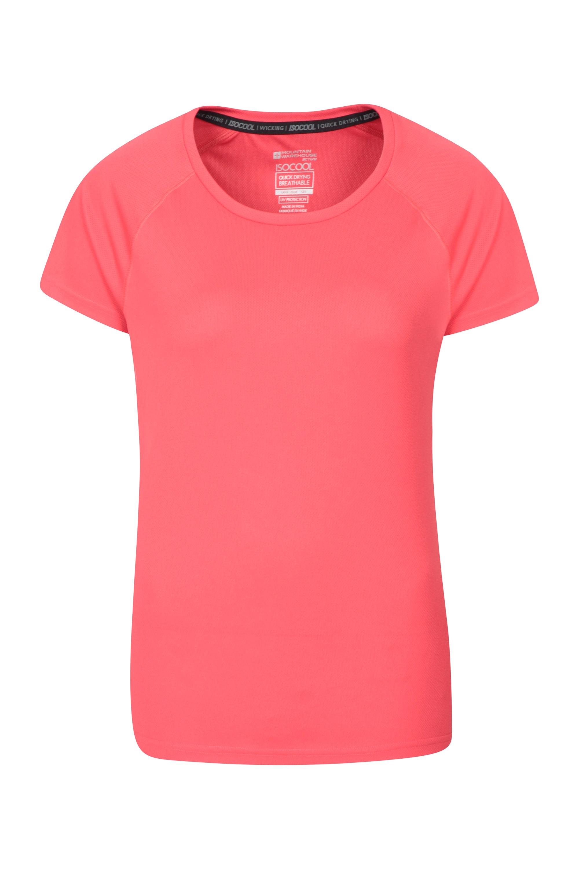 Damski T-shirt Endurance  - Pink
