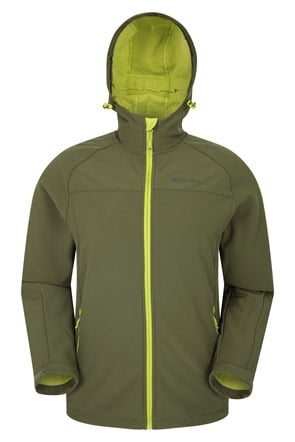 Exodus Mens Showerproof Softshell