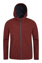 Reykjavik Mens Textured Softshell Jacket