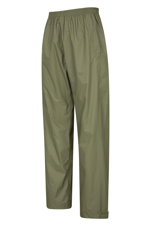 Mountain Warehouse Pakka Womens Waterproof Rain Over Pants Packaway Bag