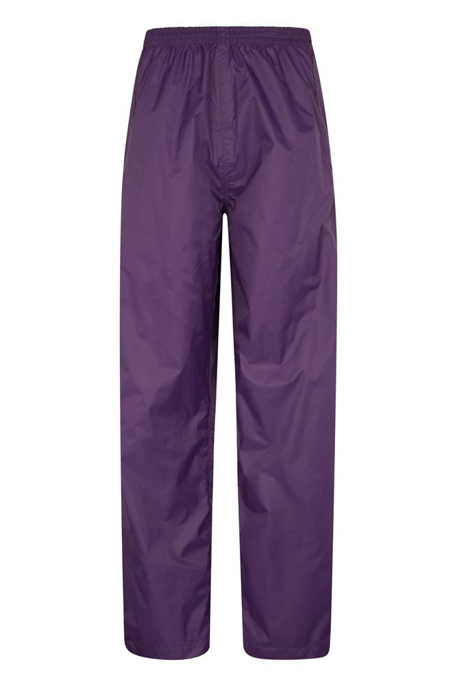 Pakka Womens Waterproof Overtrousers - Purple